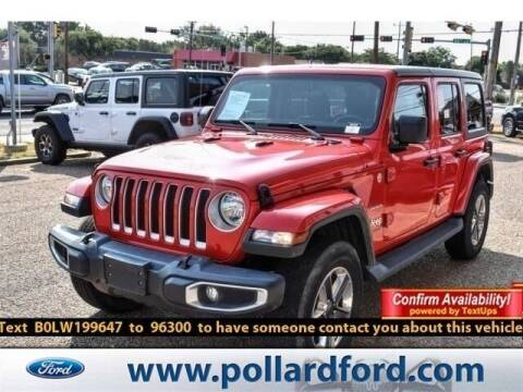2020 Jeep Wrangler Unlimited for sale at South Plains Autoplex by RANDY BUCHANAN in Lubbock TX