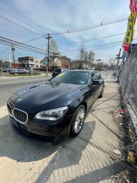2015 BMW 7 Series for sale at Buy Here Pay Here Auto Sales in Newark NJ