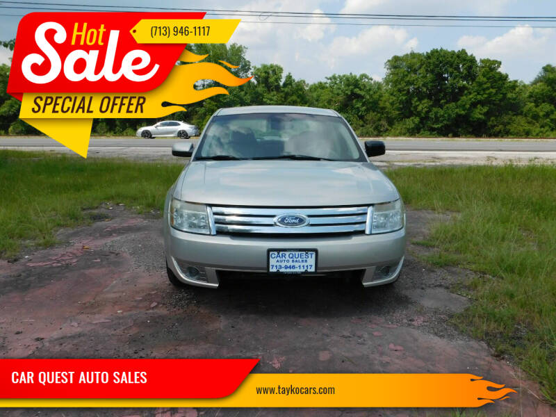 2009 Ford Taurus for sale at CAR QUEST AUTO SALES in Houston TX