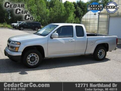 2012 Chevrolet Colorado for sale at Cedar Car Co in Cedar Springs MI