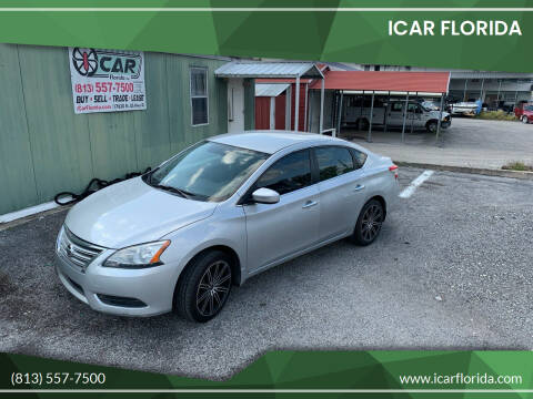 2014 Nissan Sentra for sale at ICar Florida in Lutz FL