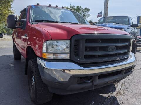 2004 Ford F-250 Super Duty for sale at GREAT DEALS ON WHEELS in Michigan City IN