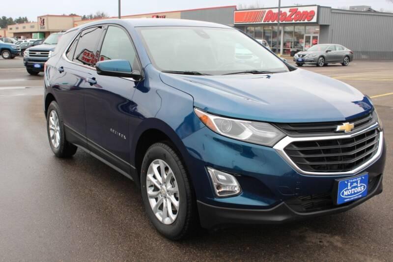 2020 Chevrolet Equinox for sale at L & L MOTORS LLC - REGULAR INVENTORY in Wisconsin Rapids WI