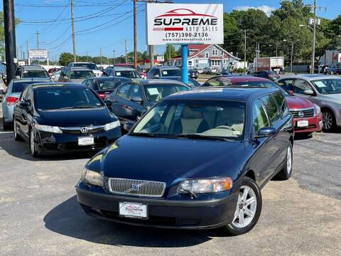 2004 Volvo V70 for sale at Supreme Auto Sales in Chesapeake VA