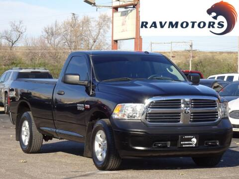 2015 RAM Ram Pickup 1500 for sale at RAVMOTORS in Burnsville MN