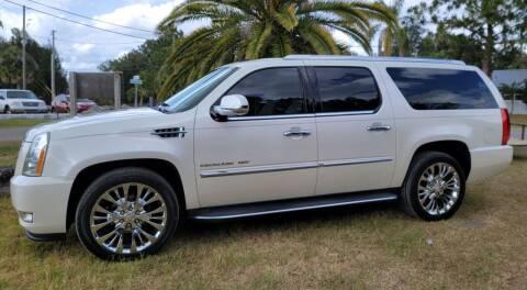 """2012 Cadillac Escalade ESV for sale at WHEELS """"R"""" US 2017 LLC in Hudson FL"""