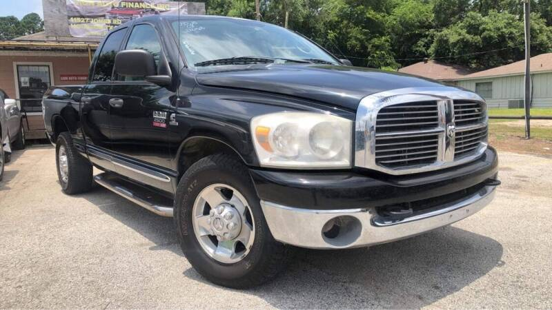 2008 Dodge Ram Pickup 2500 for sale at Lion Auto Finance in Houston TX