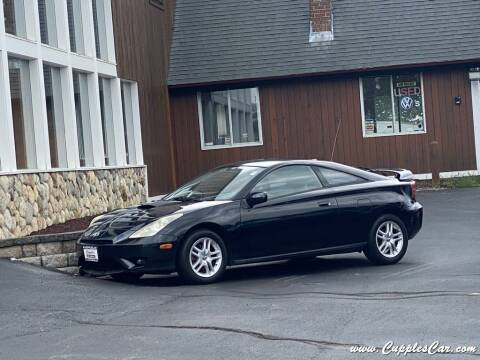 2005 Toyota Celica for sale at Cupples Car Company in Belmont NH