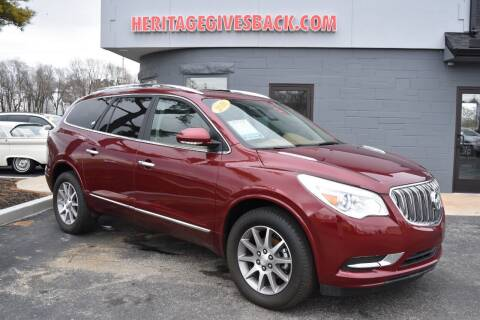2016 Buick Enclave for sale at Heritage Automotive Sales in Columbus in Columbus IN