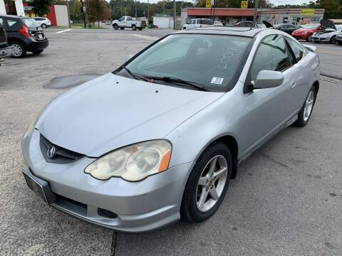 2002 Acura RSX for sale at Diana Rico LLC in Dalton GA