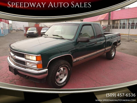 1996 Chevrolet C/K 1500 Series for sale at Speedway Auto Sales in Yakima WA