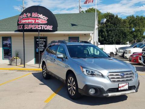 2017 Subaru Outback for sale at DICK'S MOTOR CO INC in Grand Island NE