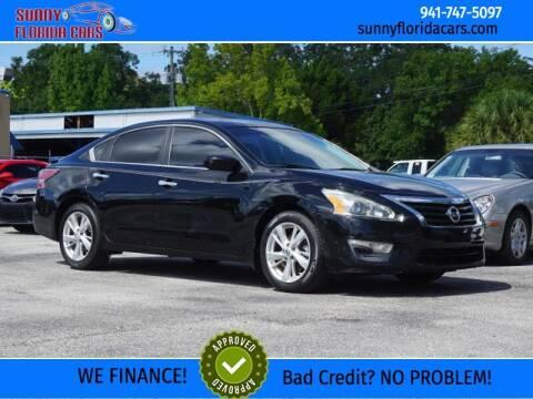 2013 Nissan Altima for sale at Sunny Florida Cars in Bradenton FL