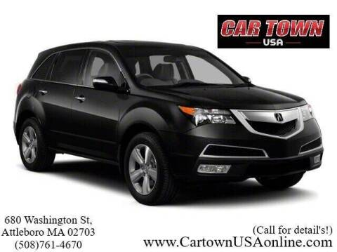 2010 Acura MDX for sale at Car Town USA in Attleboro MA