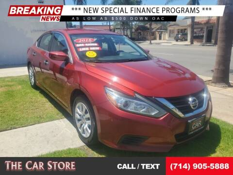 2016 Nissan Altima for sale at The Car Store in Santa Ana CA