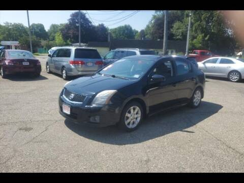 2012 Nissan Sentra for sale at Colonial Motors in Mine Hill NJ