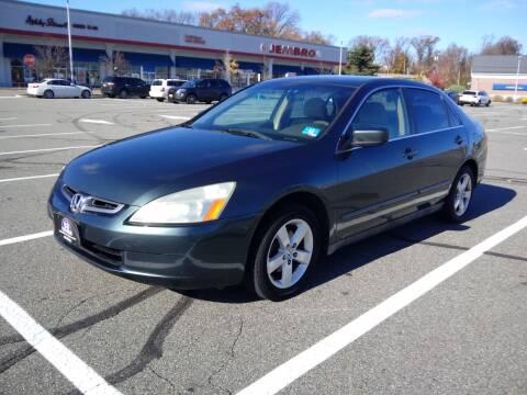 2004 Honda Accord for sale at B&B Auto LLC in Union NJ