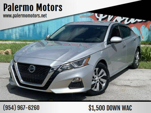 2019 Nissan Altima for sale at Palermo Motors in Hollywood FL