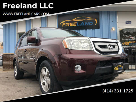 2011 Honda Pilot for sale at Freeland LLC in Waukesha WI