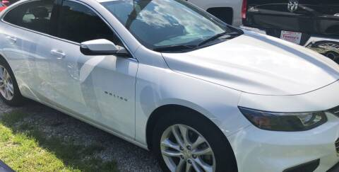 2018 Chevrolet Malibu for sale at Tommy's Auto Sales in Inez KY