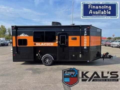 2022 Glacier 17' RV Explorer for sale at Kal's Motorsports - Fish Houses in Wadena MN