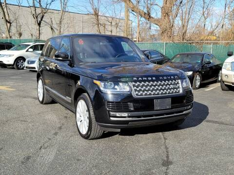2014 Land Rover Range Rover for sale at AW Auto & Truck Wholesalers  Inc. in Hasbrouck Heights NJ