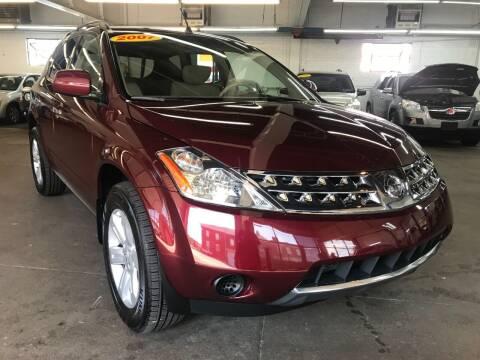 2007 Nissan Murano for sale at John Warne Motors in Canonsburg PA