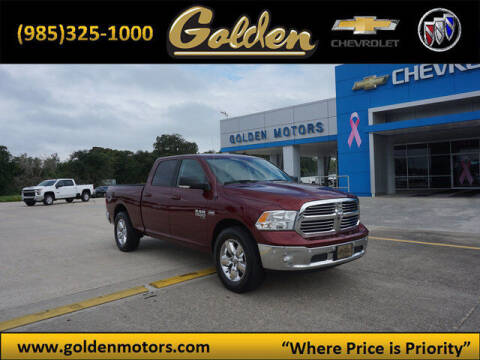 2019 RAM Ram Pickup 1500 Classic for sale at GOLDEN MOTORS in Cut Off LA