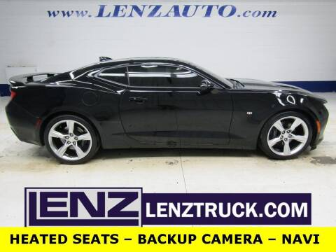 2016 Chevrolet Camaro for sale at LENZ TRUCK CENTER in Fond Du Lac WI