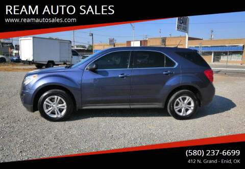 2013 Chevrolet Equinox for sale at REAM AUTO SALES in Enid OK