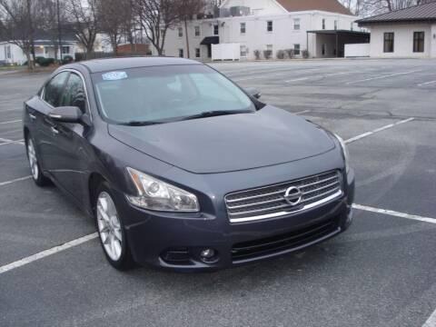 2011 Nissan Maxima for sale at Uniworld Auto Sales LLC. in Greensboro NC