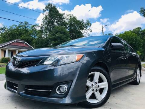 2014 Toyota Camry for sale at Cobb Luxury Cars in Marietta GA