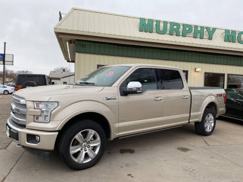 2017 Ford F-150 for sale at Murphy Motors Next To New Minot in Minot ND