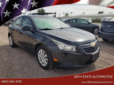 2011 Chevrolet Cruze for sale at 48TH STATE AUTOMOTIVE in Mesa AZ