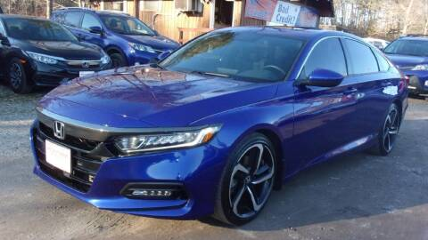 2018 Honda Accord for sale at Select Cars Of Thornburg in Fredericksburg VA