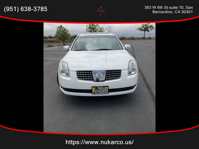 2005 Nissan Maxima for sale in San Bernardino, CA