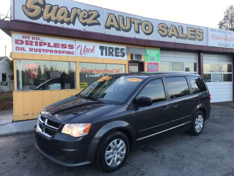 2016 Dodge Grand Caravan for sale at Suarez Auto Sales in Port Huron MI