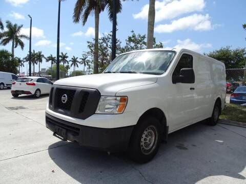 2017 Nissan NV Cargo for sale at Port Motors in West Palm Beach FL
