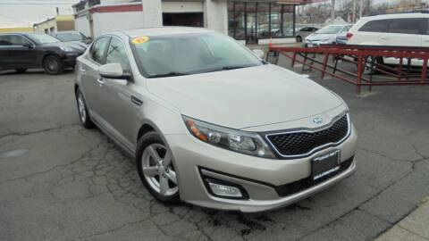 2015 Kia Optima for sale at Absolute Motors 2 in Hammond IN