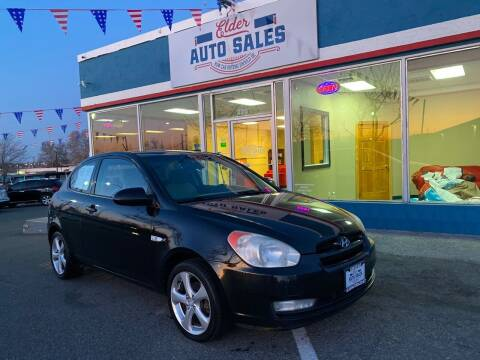 2007 Hyundai Accent for sale at ELDER AUTO SALES LLC in Coeur D'Alene ID