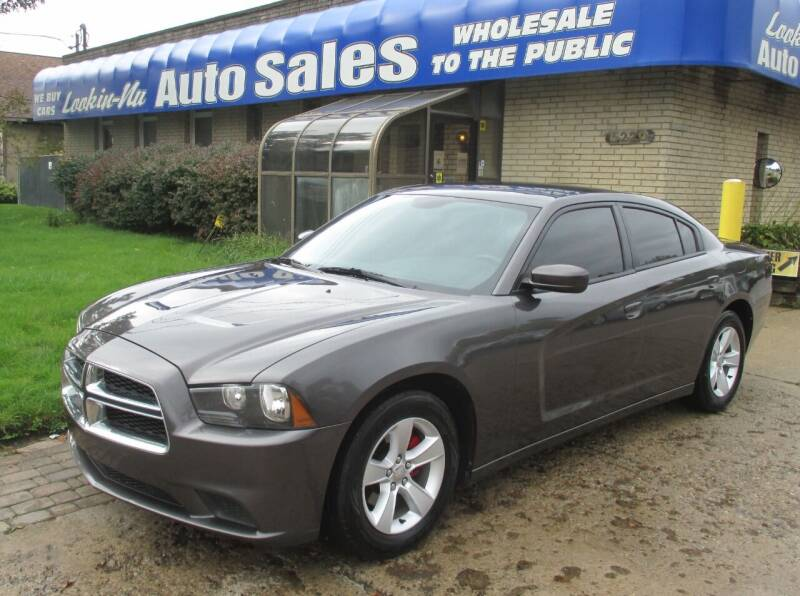 2014 Dodge Charger for sale at Lookin-Nu Auto Sales in Waterford MI