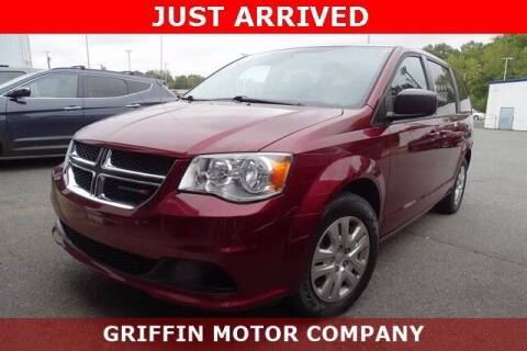 2018 Dodge Grand Caravan for sale at Griffin Buick GMC in Monroe NC