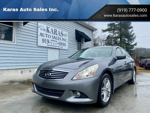 2013 Infiniti G37 Sedan for sale at Karas Auto Sales Inc. in Sanford NC