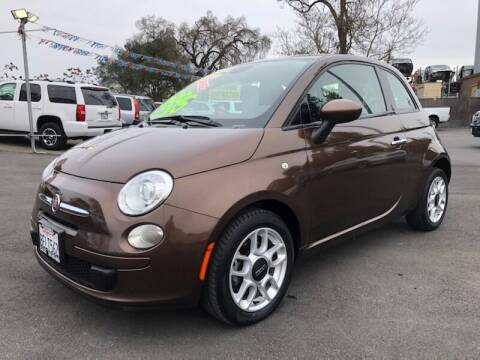 2015 FIAT 500 for sale at C J Auto Sales in Riverbank CA