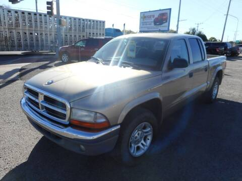 2004 Dodge Dakota for sale at AUGE'S SALES AND SERVICE in Belen NM