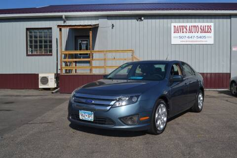 2011 Ford Fusion for sale at Dave's Auto Sales in Winthrop MN
