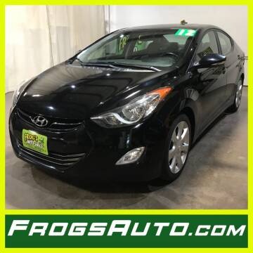 2012 Hyundai Elantra for sale at Frogs Auto Sales in Clinton IA
