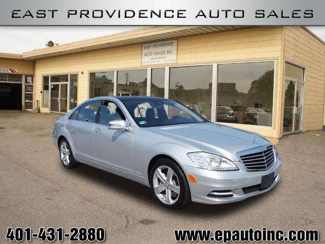 2010 Mercedes-Benz S-Class for sale at East Providence Auto Sales in East Providence RI