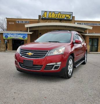 2013 Chevrolet Traverse for sale at A MOTORS SALES AND FINANCE - 10110 West Loop 1604 N in San Antonio TX