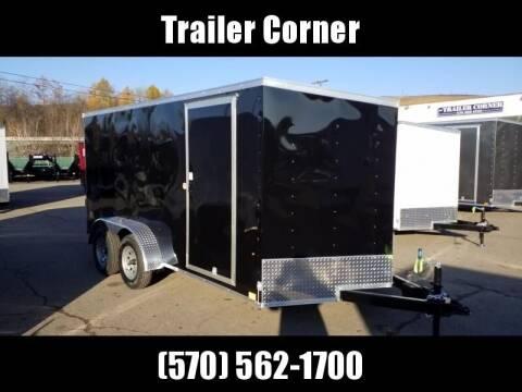 Look Trailers STLC 7X14 - RAMP DOOR